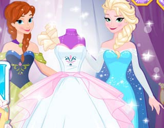 Game Design Your Frozen Wedding Dress