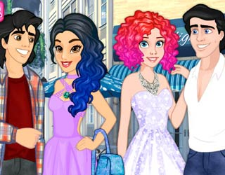 Game Disney Amazing Double Date
