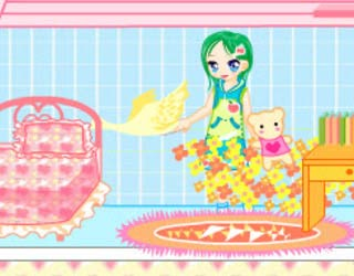 Play Free Doll House Decorating