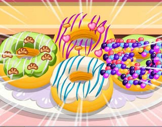 Game Donuts Cooking Games