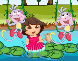 Game Dora Attack Fun