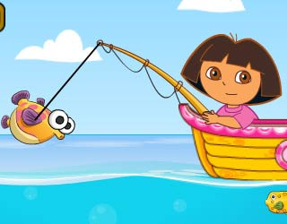 Game Dora Fishing