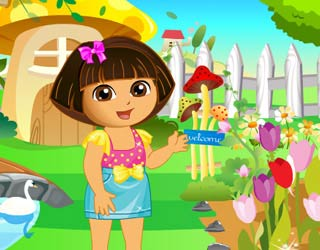 Game Dora Garden Decor