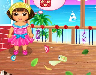 Game Dora Party Preparing