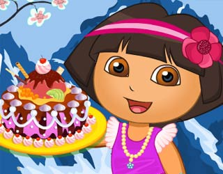 Game Dora Royal Cake