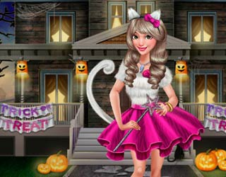 Game Dove Halloween Dolly Dress Up