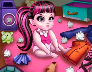 Game Draculaura Care Baby