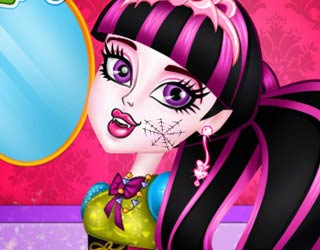 Game Draculaura Chic Makeover