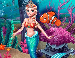 Game Eliza Mermaid Dressup