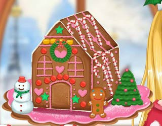 Play Free Ellie Gingerbread House Decoration