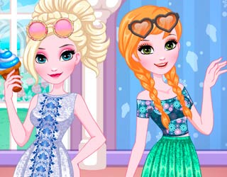 Game Elsa And Anna DIY Sunglasses
