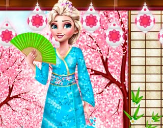 Game Elsa And Anna Japan Fashion Experience