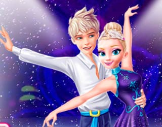 Game Elsa and Jack Ice Dancing
