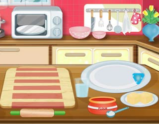 Game Elsa Cooking Pizza