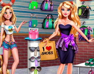 game Elsa Frozen: Shopping Fever