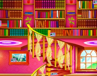 Game Elsa Library Decoration