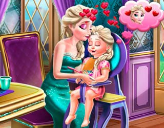 Game Elsa Mommy Toddler Feed