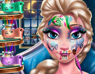 game Elsa New Year Makeup