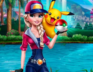 game Elsa Pokemon Go