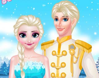 Game Elsa Queen Wedding