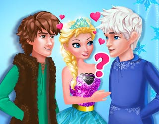 Game Elsa's True Love: Jack vs Hiccup