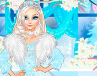 Game Elsa's Winter Wedding