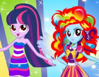 game Equestria Girls Fashion Contest
