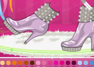 Game Exclusive Shoes Design