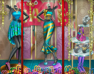 Game Fashion Boutique Window