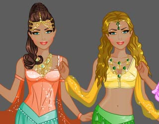 Game Fashion Studio Persian Princess