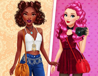 Game Fashionistas: Boho Vs Grunge