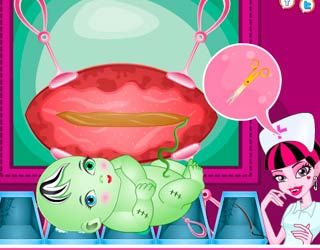 Game Frankie Stein Cesarean Pregnancy