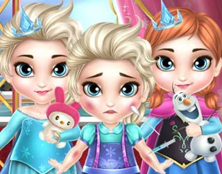 Game Frozen Babies Doctor