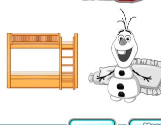 Game Frozen Bunk Bed