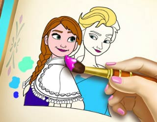 Game Frozen Coloring Book