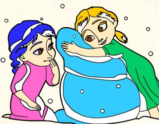 Play Free Frozen Coloring Book