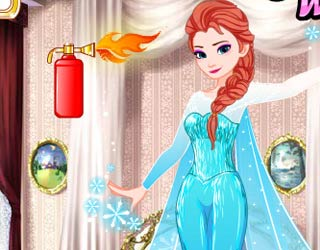 Game Frozen Elsa Fire Makeover