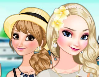 Game Frozen Sisters' Island Resort