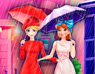 Game Frozen Sisters Paris Shopping