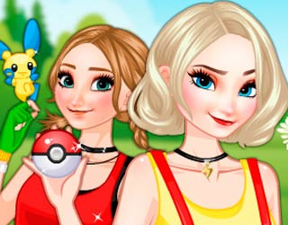 Game Frozen Sisters Pokemon Fans