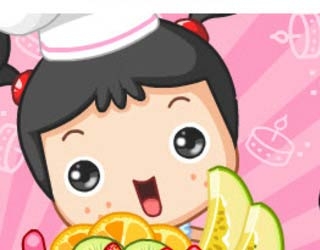 Play Free Fruit Cake Decoration