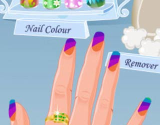 Game Funky Nail Art