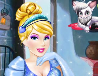game Fynsy's beauty salon Cinderella