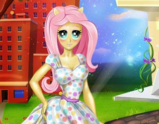 game Fynsy's beauty salon Fluttershy