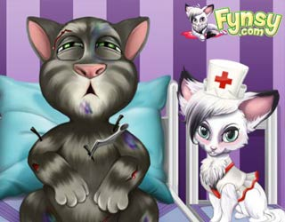 Game Fynsy's hospital talking Tom