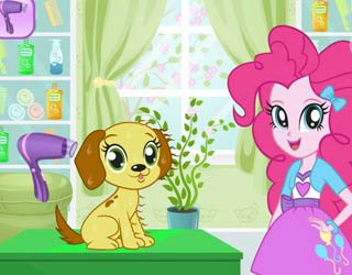 game Fynsy's pet salon Pinkie Pie