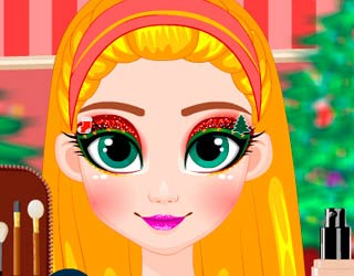 Game Glitter Christmas Elf Makeover