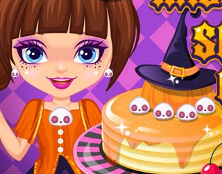 Game Halloween Spooky Pancakes