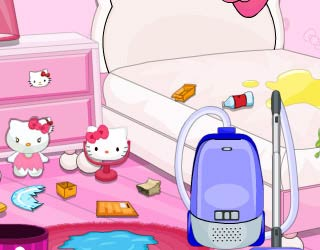 Game Hello Kitty Messy Room