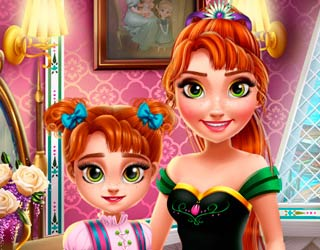 game Ice Princess Anna: Mommy Real Makeover